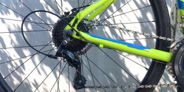 Настраиваем задний переключатель велосипеда самостоятельно.