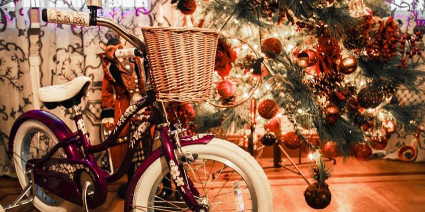 Новый Год. Велосипед - лучший подарок!