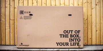Велосипед в коробке - габариты, доставка, сборка.