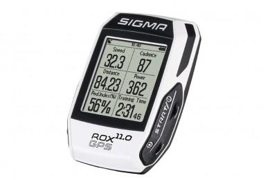 Велокомпьютер Sigma ROX 11.0 GPS WHITE SET