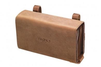 D-образная сумка на раму, седло Brooks