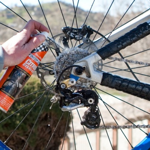 Finish Line-Citrus Bike Chain Degreaser
