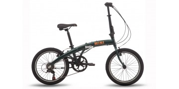 Складной велосипед PRIDE MINI 6 2021