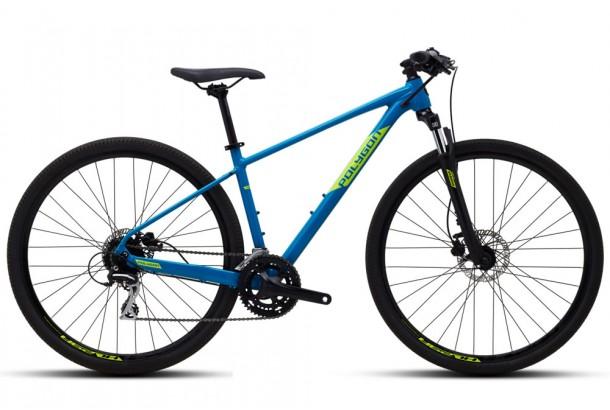 Велосипед гибрид 28'' Polygon Heist X2 2021