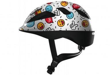 Вело шлем Abus Smooty 2.0 White Smiley